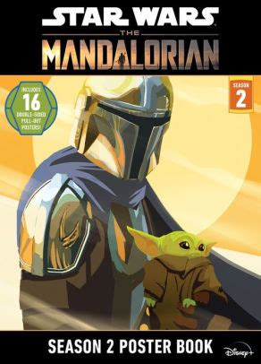 Star Wars: The Mandalorian Season 2 Poster Book by ...