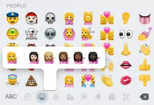 how to get more emojis on iphone 4 new ethnically diverse iphone emojis added to ios 8 3 by