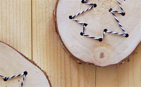 decoration en bois pour sapin de noel des d 233 corations en bois diy pour le sapin de no 235 l shake my