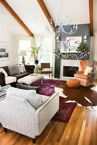 1001 designs uniques pour une ambiance cocooning With tapis ethnique avec faire teindre un canapé en cuir