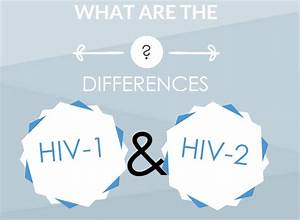 What Is The Main Difference Between Hiv-1 And Hiv-2