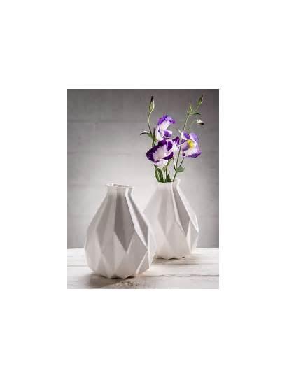 Origami Fold Objects Vase Ceramic Decorate Ways