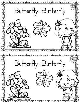 life cycle   butterfly freebie emergent reader printables insects preschool life cycles