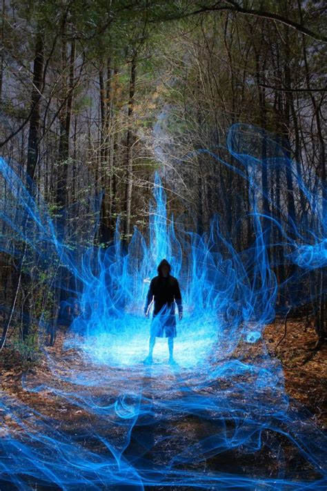 The Magic Of Wood And Light by Wizard Seeking In The Woods Pieces That