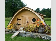 Hobbit Hole Chicken Coops Bring the Beauty of the Shire to
