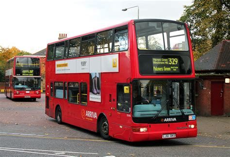 london bus routes route  enfield turnpike lane station
