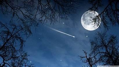 Star Shooting Stars Desktop Night Sky Wallpapers