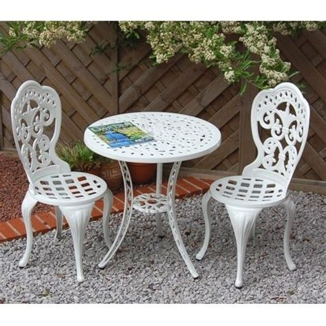 alfresia garden furniture patio cast aluminium caf 233 bistro