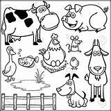 Coloring Farm Animals Pages Animal Adults Cartoon Barn Awesome Barnyard Colouring Sheets Printable Pdf Getcolorings Funny Andersson Charlotte Books sketch template