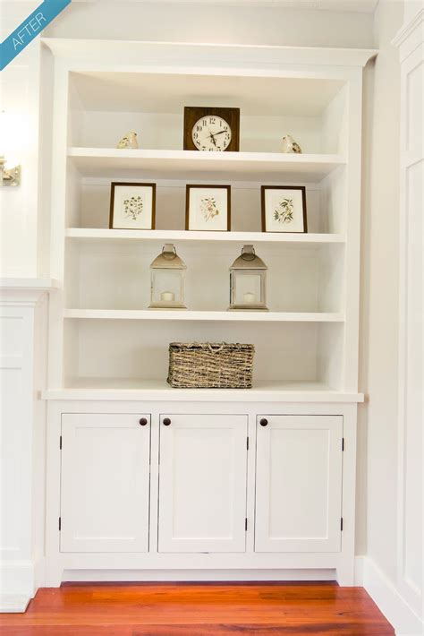 built  shelves cabinet fireplace wall  ceiling