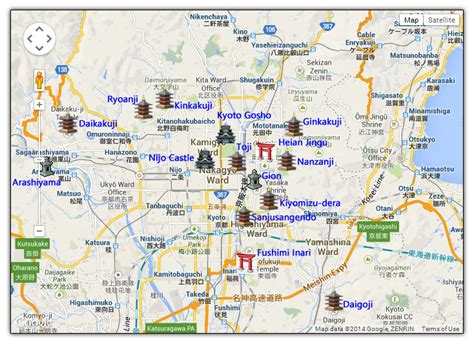 pin kyoto sightseeing map    indexhtml page