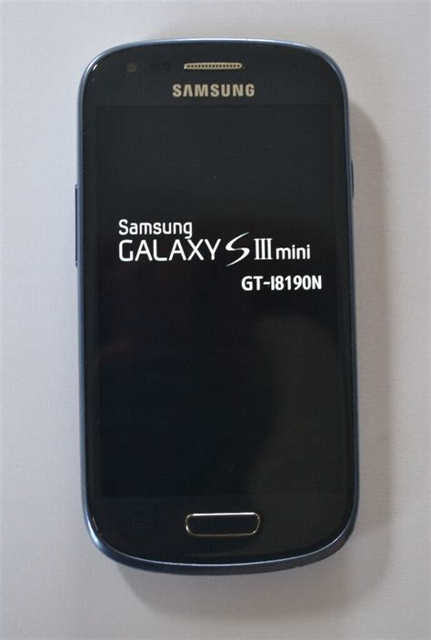 Samsung Mini Mobile by Samsung S3 Mini T Mobile Ee Pebble Blue In