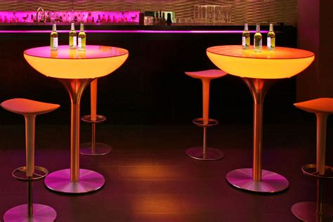 light up bar light up bar table designed and manufactured in europe