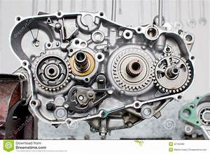 Engine Parts Stock Photo  Image Of Gears  Auto  Workshop