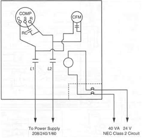 Installation Wiring Diagram For Industri by Components Symbols And Circuitry Of Air Conditioning