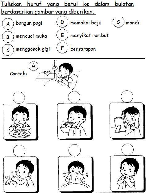 bahasa malaysia prasekolah latihan badan