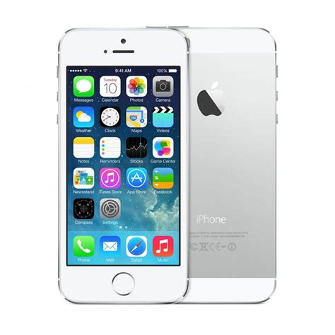 iphone 5s 32gb at t apple iphone 5s 32gb smartphone att wireless silver