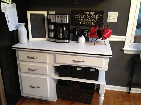Kitchen Desk Area Turned Into A Coffee Bar. I Need The Americano Regular Coffee Time Villeta Espresso Syrup Recipe Caption Walmart Wine In Paris How To Drink