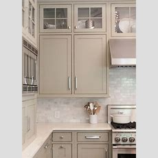 Neutral Painted Cabinets Gray, Greige, Taupe, And Gray