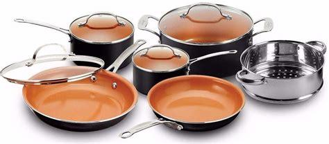 gotham steel  piece kitchen nonstick frying pan  cookware set  shipped