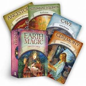 Earth Magic Oracle Cards  A 48-card Deck And Guidebook - Cards