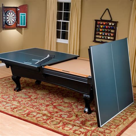 Game Room Pool Table Ping Pong