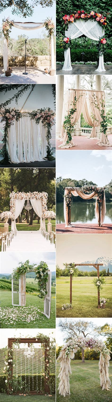 10 Stunning Wedding Arch Ideas for Your Ceremony