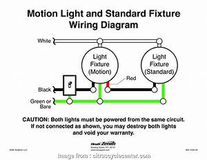 How To Wire A Light With Motion Detector Nice Heath Zenith