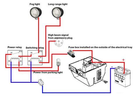 1985 Bmw K100 Wiring Diagram by Headlight Upgrade Experiences