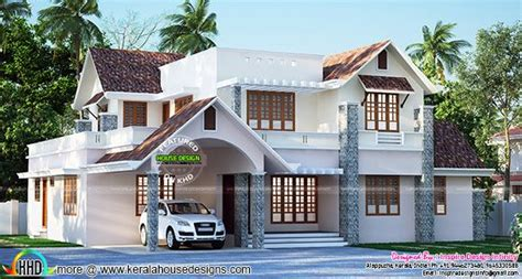 beautiful bedroom new build houses january 2016 kerala home design and floor plans