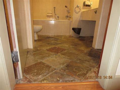 Uneven Floor Toilet uneven bathroom floor picture of villa hotel