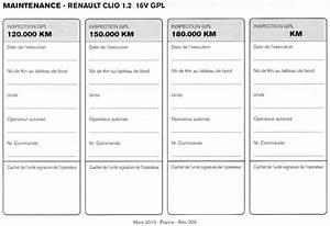 Carnet Entretien Renault : nouvelle clio 1 2 16v 75 gpl page 13 renault forum marques ~ Gottalentnigeria.com Avis de Voitures