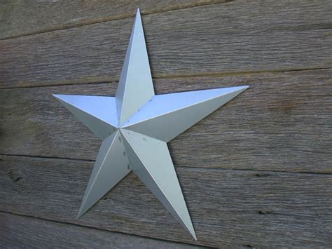 53 Inch Unfinished Large Metal Star, Heavy Duty Amish Barn