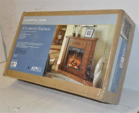 essential home   electric fireplace