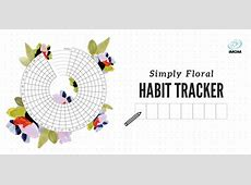 Floral Habit Tracker iMom