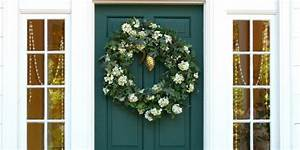 decoration de noel 5 idees pour decorer sa porte d With decorer sa porte d entree