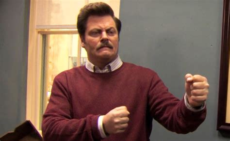 nick offerman claims  ron swanson