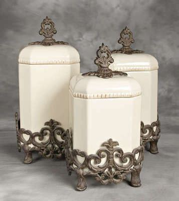 tuscan kitchen canisters sets tuscan kitchen canisters ceramic and iron canisters