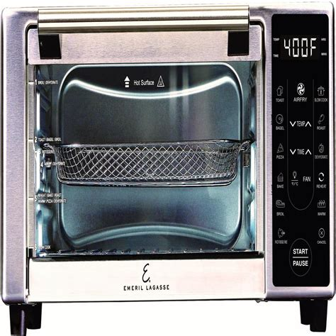 emeril 360 lagasse power airfryer fryer air oven xl rotisserie cook slow countertop toaster dehydrator cooker broil counter bake touch