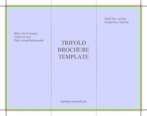 4 sided brochure template free online tri fold brochure template best 25 free