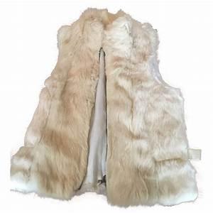 Manteau Fourrure Sans Manche : manteaux ventcouvert gilet en lapin sans manche fourrure ~ Dallasstarsshop.com Idées de Décoration