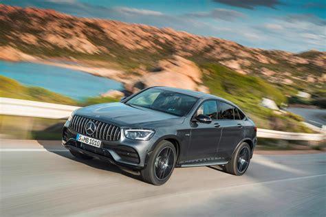 Amg models get parking sensors with active park assist standard. 2021 Mercedes-AMG GLC 43 Coupe Exterior Photos   CarBuzz
