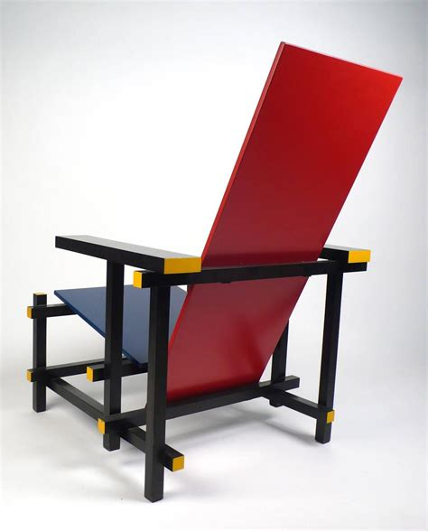 vintage gerrit rietveld chair produced license by