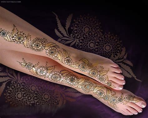 Brand New Foot Mehndi Design Collection 2013 Part-1 Arabic ...
