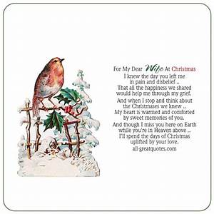 For My Dear Wif... Painful Christmas Quotes