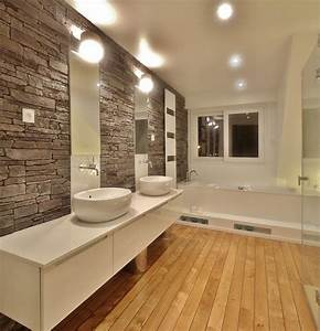 129 best images about salle de bain inspirations on With decoration interieur maison en pierre