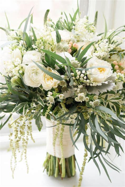 ideas  white floral arrangements