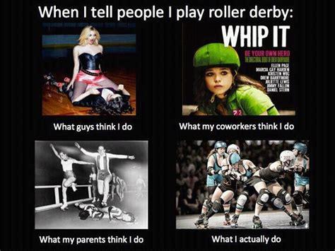 Roller Derby Meme - pin by mommy s minions on roller derby pinterest