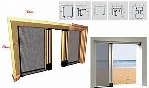 moustiquaire enroulable pour porte et collection avec With porte de garage enroulable et roulette baie vitrée
