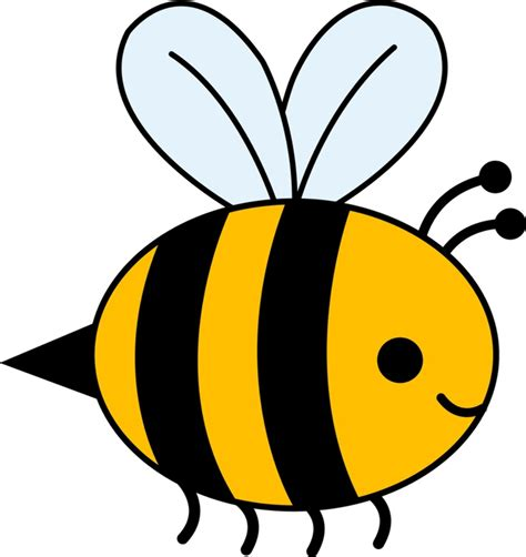 high quality bee clipart simple transparent png